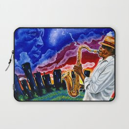 'Trane in the Sky Laptop Sleeve