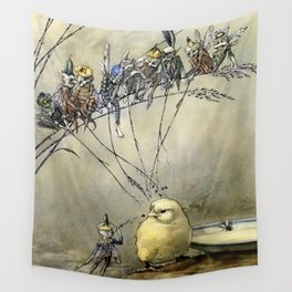 """""""Bother the Gnat"""" by Duncan Carse Wall Tapestry"""