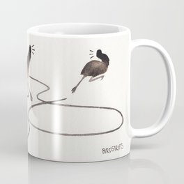 Bird no. 283: PANIC Coffee Mug