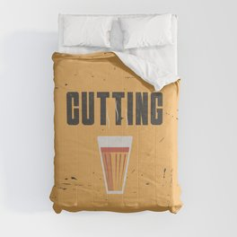 Funny Cutting Chai Tea Hindi Quote Comforters