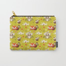 Sleeping Woodland Animals Carry-All Pouch