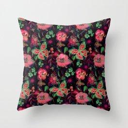 Autumnbutterfly Throw Pillow
