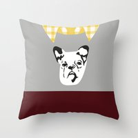 lydia martin Throw Pillows featuring Lydia Martin by smartypants