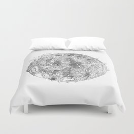 To Cultivate Dreams Duvet Cover