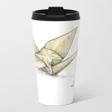 Paper Cranes Metal Travel Mug