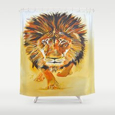 Relentless Pursuit Shower Curtain