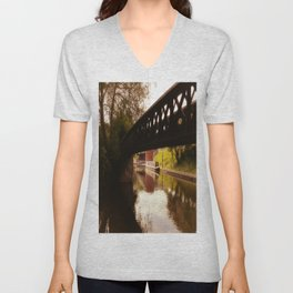 Canal Dreams Unisex V-Neck