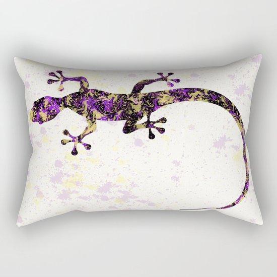 Abstract Lizard Rectangular Pillow