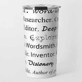 Writer Travel Mug