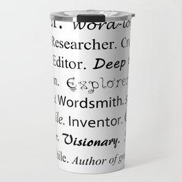 Writer Travel Mug