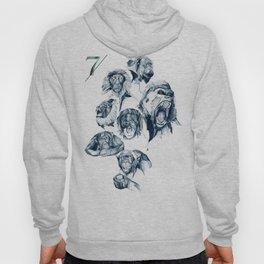 Seven Monkeys Hoody