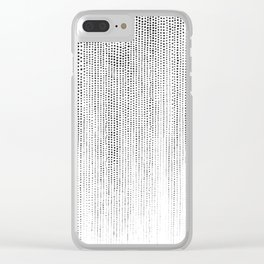 Soft - B&W Clear iPhone Case