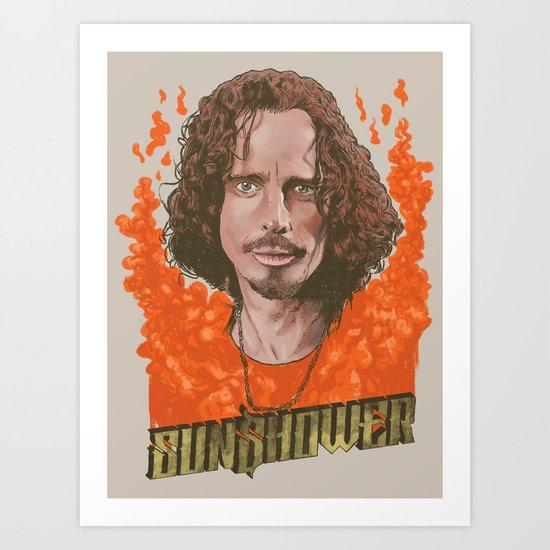 Sunshower Art Print by RJ Artworks  Society6 # Sunshower Art_040753