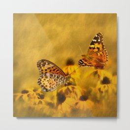 Echoes of Nature Metal Print