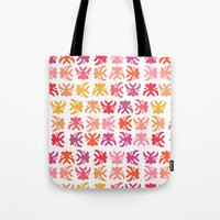 swimming Tote Bags featuring Swimming by Robin Gayl