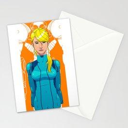 Intergalactic Bounty Hunter Stationery Cards
