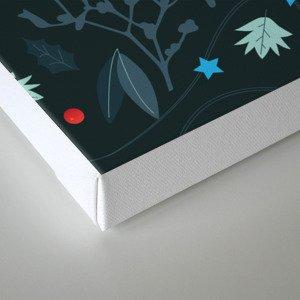 xmas pattern Canvas Print
