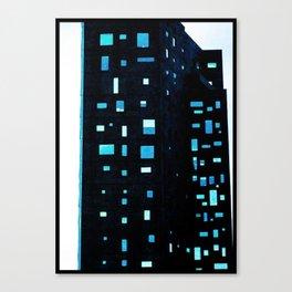 Building at Dusk - New York City Canvas Print