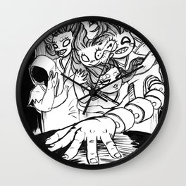 Inktober Day 3 Wall Clock