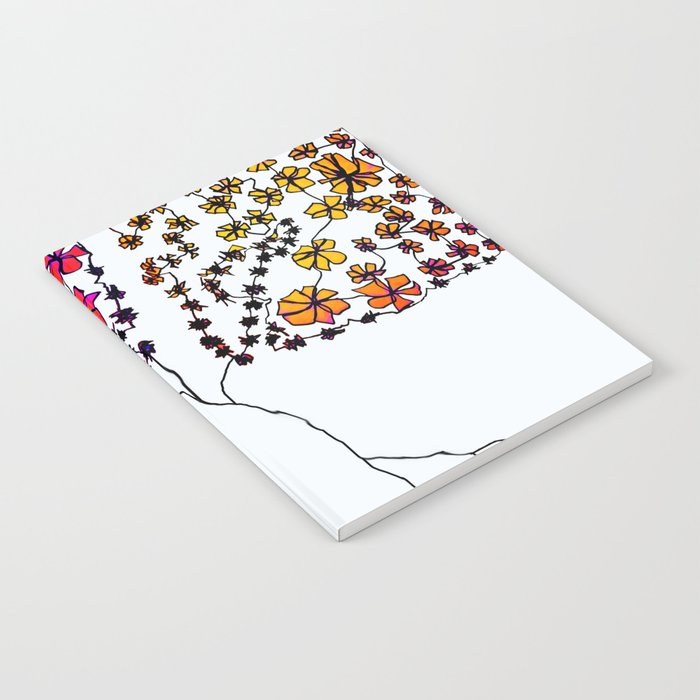 Wall Flowers Notebook