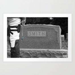 20150926 Levi, Goodbye Art Print