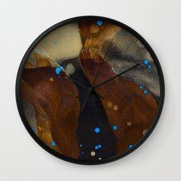 joelarmstrong_rust&gold_048 Wall Clock