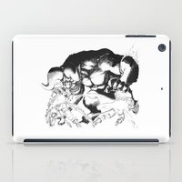 berserk iPad Cases featuring Guts & Griffith vs Zodd by Vortha