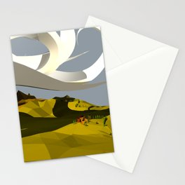 They Cast An Odd Shadow Stationery Cards
