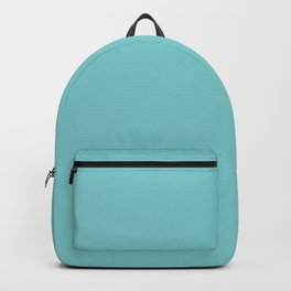 Peony Afternoon ~ Teal Backpack