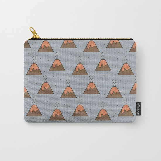 Volcano Pattern #2 Carry-All Pouch