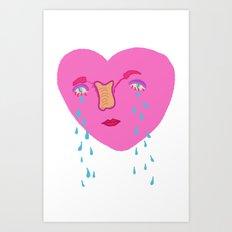 happy v-day Art Print