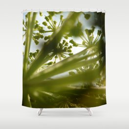 Poison Hemlock 2 Shower Curtain