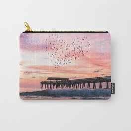 Bird Heart at Sunrise Carry-All Pouch