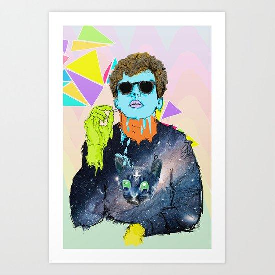 cool boy? Art Print