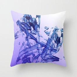Indigo Impact Throw Pillow