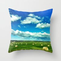 canada Throw Pillows featuring Canada by Judith Altman