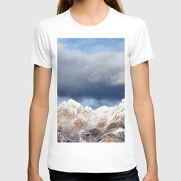 Desert Mountains with Snow-Barbara Chichester T-shirt