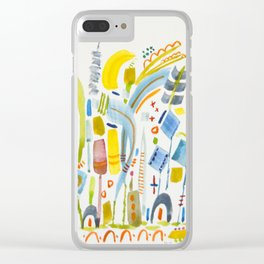 No. 16 (tender) Clear iPhone Case