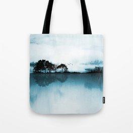 Nature Guitar Blues Tote Bag