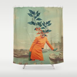 Love and Dignity Shower Curtain