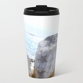 A Rock's Perspective Travel Mug