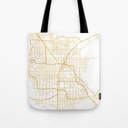 LAS VEGAS NEVADA CITY STREET MAP ART Tote Bag