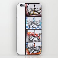 converse iPhone & iPod Skins featuring Converse by Creo