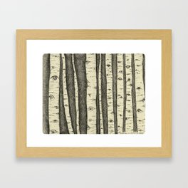 make me a witness (wasatch, utah) Framed Art Print