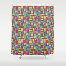 Building Blocks SM Shower Curtain