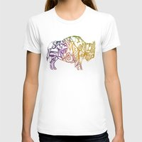 bison T-shirts featuring Bison. by Stefani Reeder