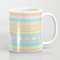 egyptian Mugs featuring Egyptian II by Louise Machado