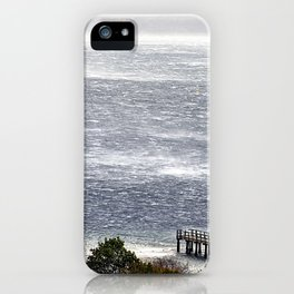 wind gusts iPhone Case