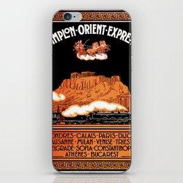 Simplon Orient Express London Athens iPhone Skin