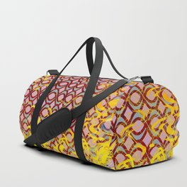 Engulfed in Flames of Fire Duffle Bag